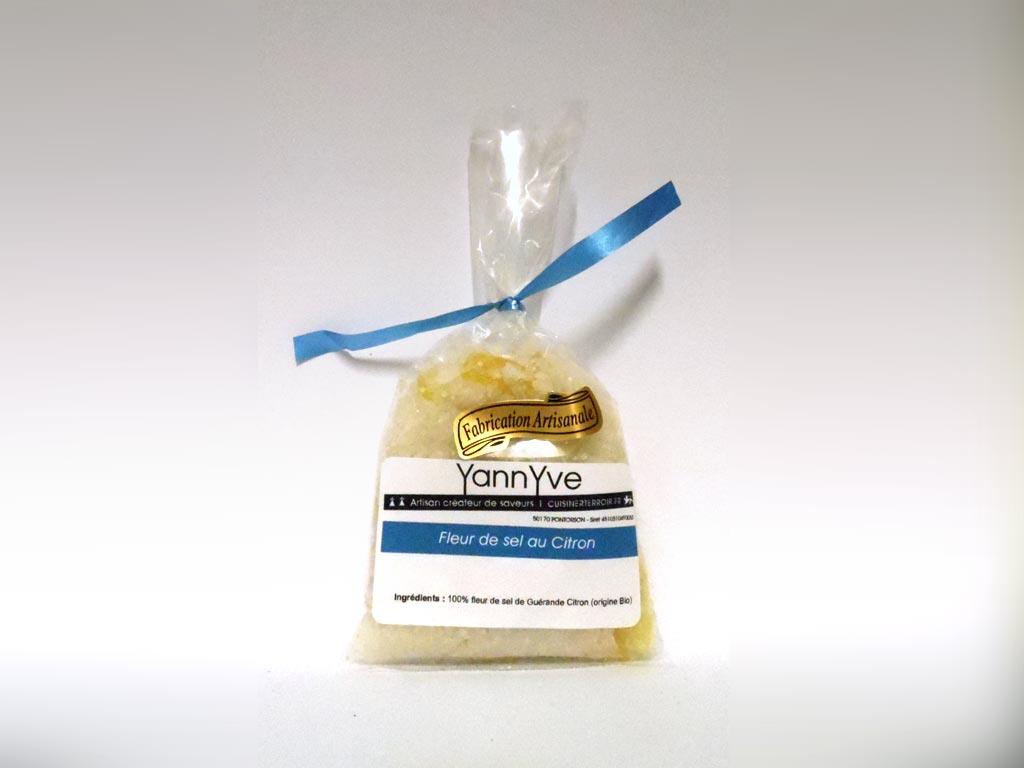 Fleur de sel de Guérande aux citrons