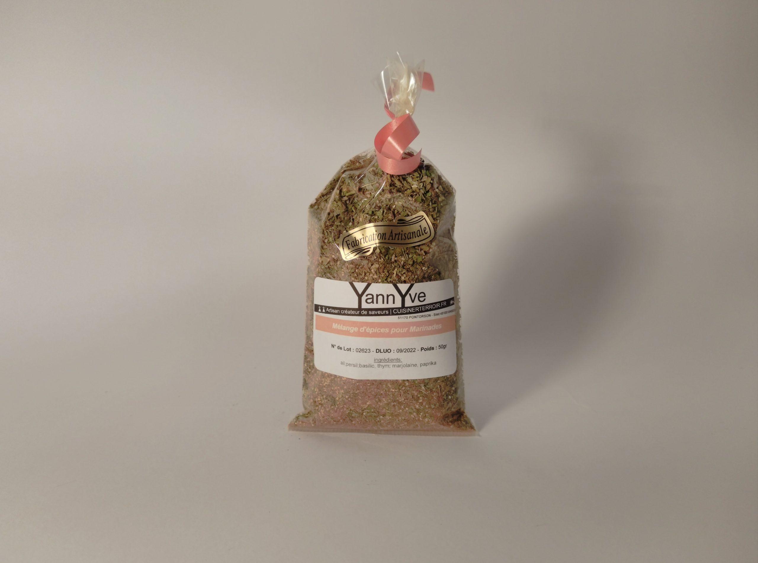 Mélange d'épices (sans sel) Grains de Pirates
